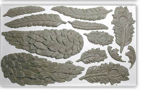 Iron Orchid Designs:Wings and feathers moulds