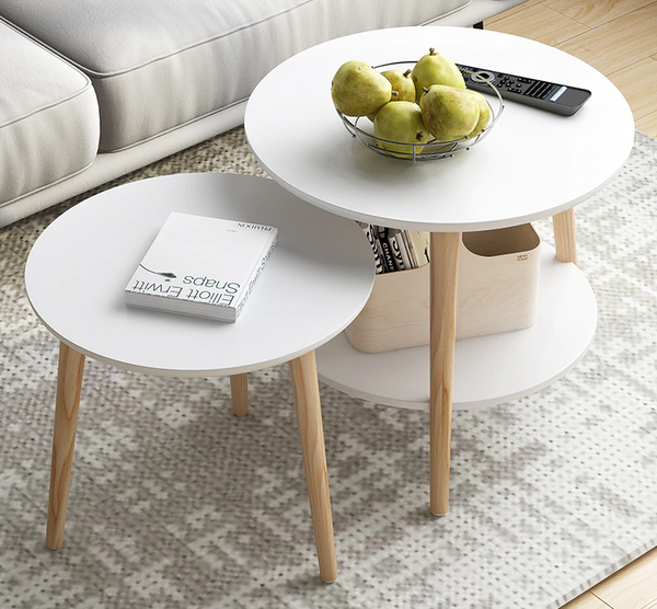 2 Tables D'appoint Scandinave