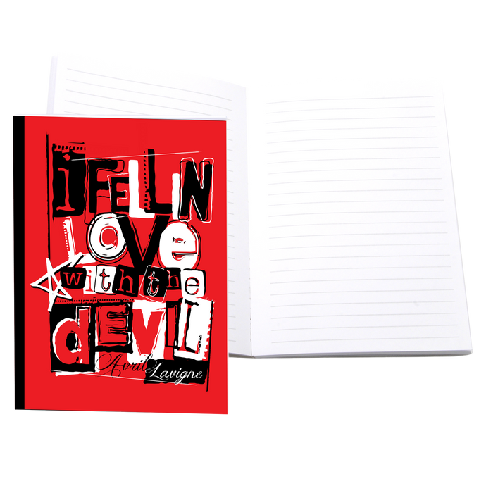 I Fell In Love with the Devil Notebook
