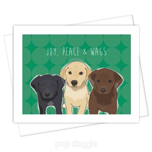 Labrador Retriever Christmas Card