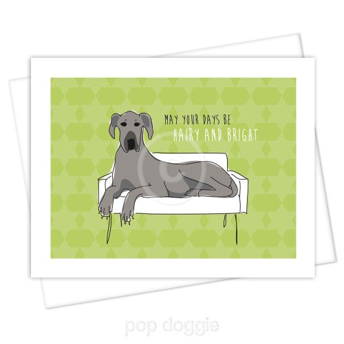Great Dane Christmas Card