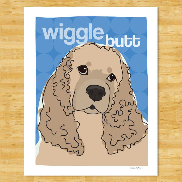 Cocker Spaniel Art Print