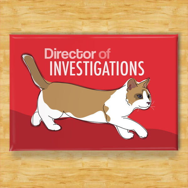 Cat Magnet - Director of Investigations
