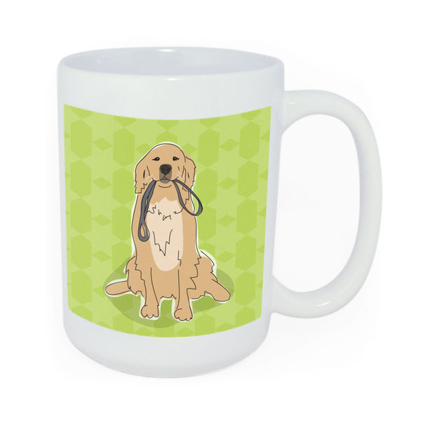 Golden Retriever Mug Art
