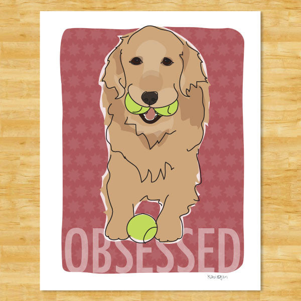 Golden Retriever Art Print