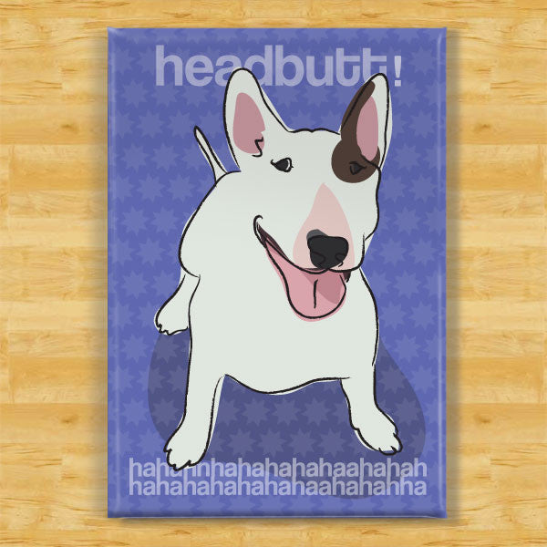 Bull Terrier Pop Doggie - Bull terrier art