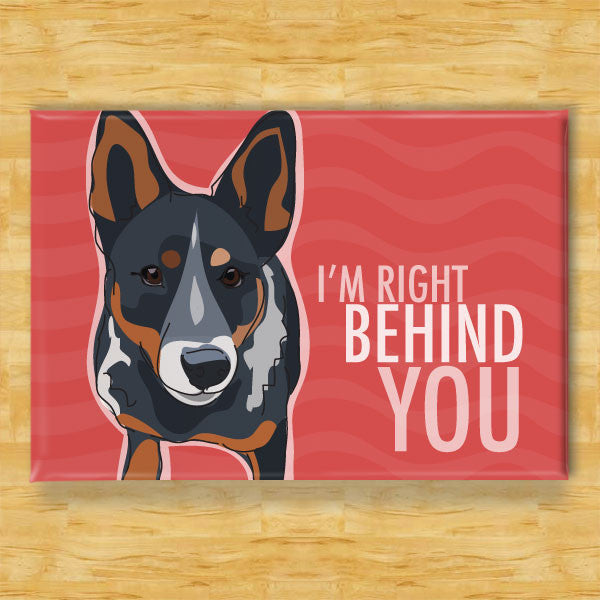 Cattle Dog Art Print