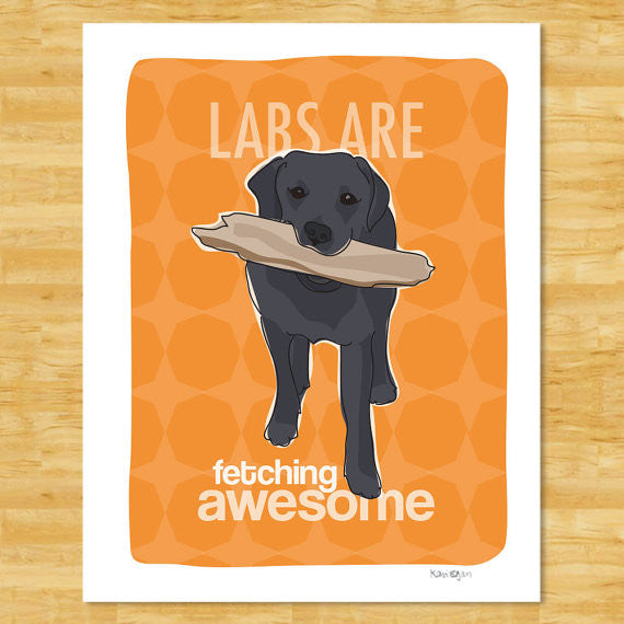 Labrador Retriever Art Print