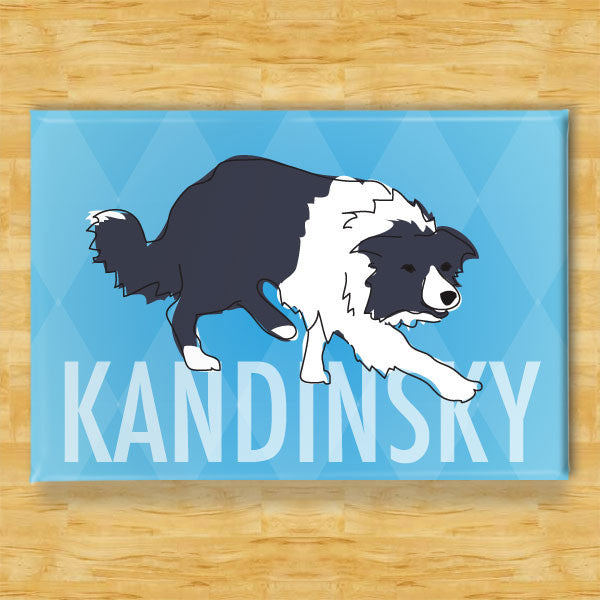 Personalized Border Collie Magnet