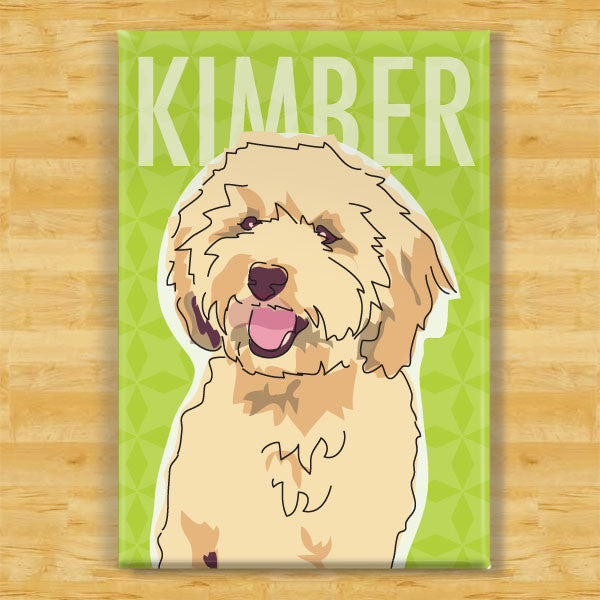 Personalized Labradoodle Magnet