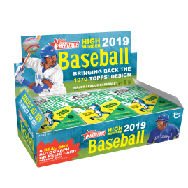 2019 Heritage High Number Hobby Box