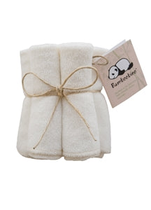 Bamboobino Baby Wash Cloths - 5 Pack