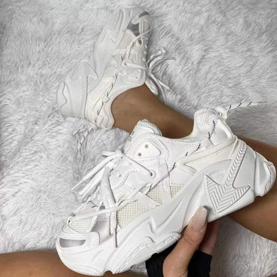 Sneakers femme - NGILA Blanche