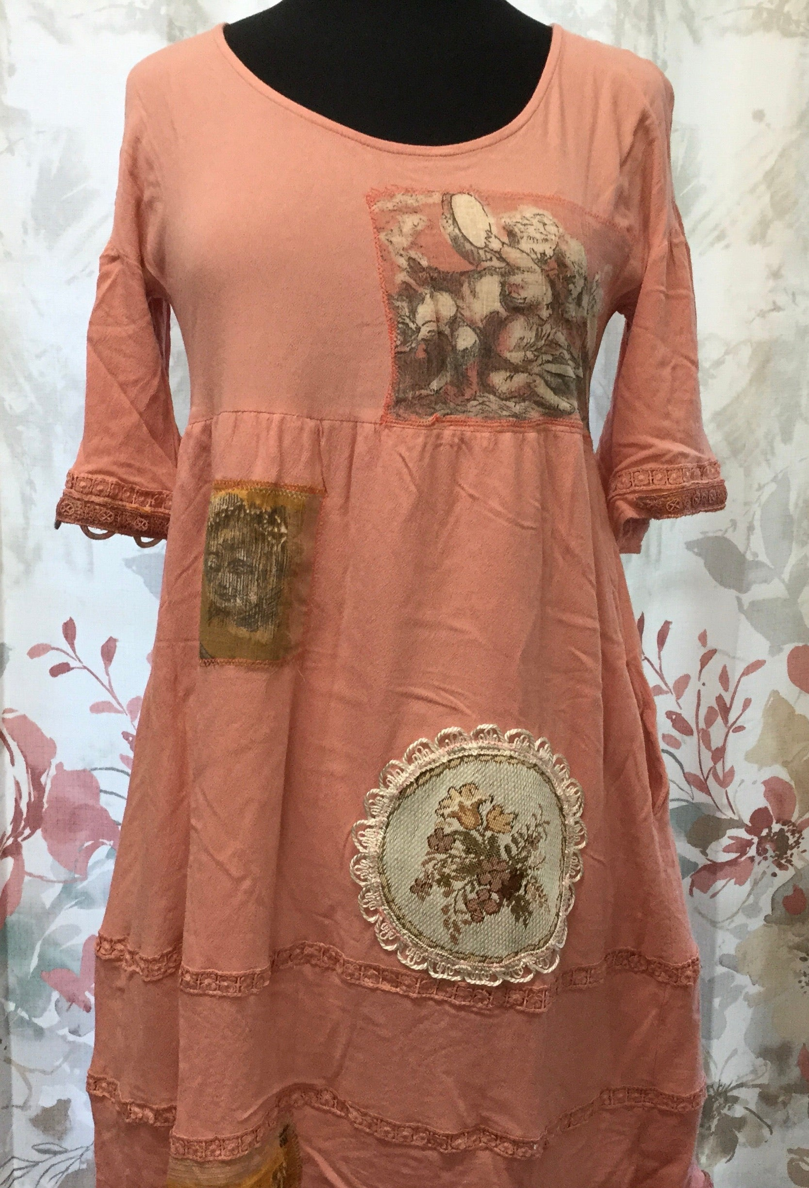 Peach Patch Dress