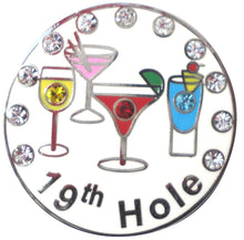 19th Hole w/ Crystals Ball Marker product pic 3