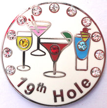 19th Hole w/ Crystals Ball Marker product pic 4