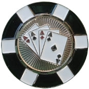 4 Aces Poker Chip Ball Marker product pic 4