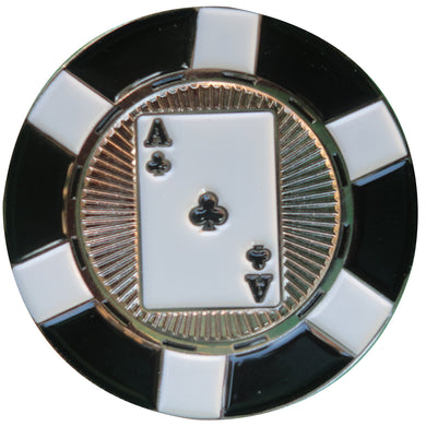 Ace of Clubs Poker Chip Ball Marker main pic