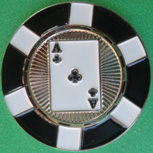 Ace of Clubs Poker Chip Ball Marker product pic 1