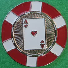 Ace of Hearts Poker Chip Ball Marker product pic 1