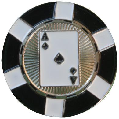 Ace of Spades Poker Chip Ball Marker product pic 1