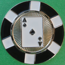 Ace of Spades Poker Chip Ball Marker product pic 2