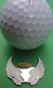Angel Wings Ball Marker golf ball pic