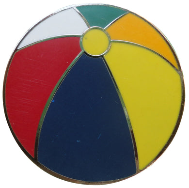 Beach Ball Ball Marker
