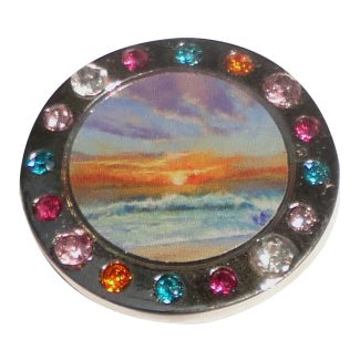 Beach Sunset Ball Marker main pic