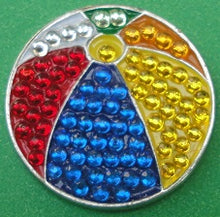 Beach Ball Crystals Ball Marker product pic 1