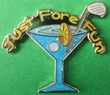 Blue Martini Glass Ball Marker product pic 1