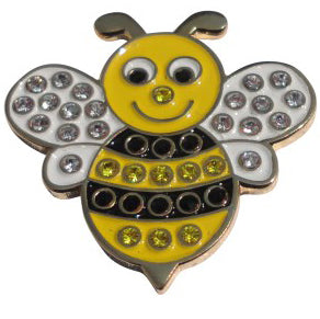 Bumble Bee Crystals Ball Marker main pic