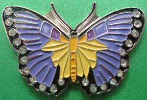 Purple Butterfly Ball Marker product pic 2