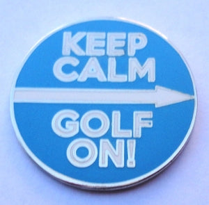 Keep Calm Golf On Marker product pic 1