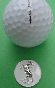 Chrome Stallion Ball Marker golf ball pic