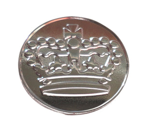 Crown Sterling Silver Plated Ball Marker product pic 1
