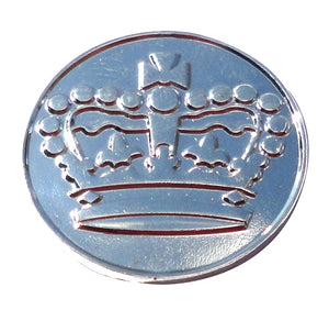 Crown Sterling Silver Plated Ball Marker product pic 4