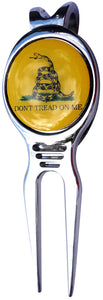 Don't Tread on Me Ball Marker divot fixer 3