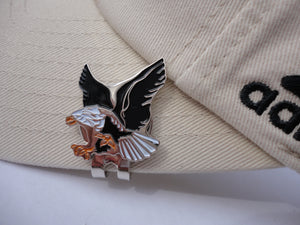 Eagle Ball Marker hat brim pic