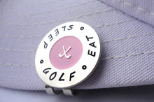 Eat Sleep Ball Marker hat brim pic 1