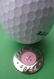 Eat Sleep Ball Marker golf ball pic 1