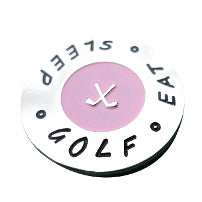 Eat Sleep Golf Ball Marker main pic