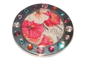 Floral Watercolor Crystal Ball Marker