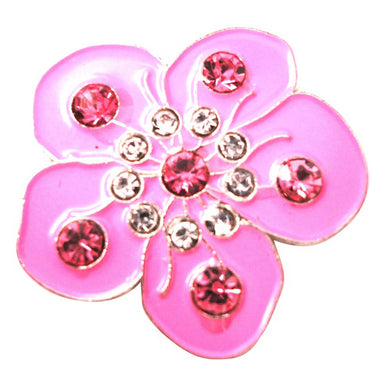 Flower Pink ball marker