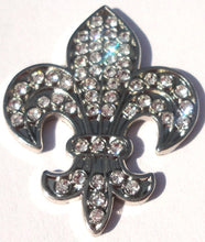 Fleur-de-lis with Clear Crystals Ball Marker product pic 2