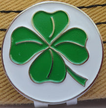 Four Leaf Clover Ball Marker hat brim pic 2
