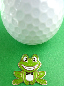 Frog Ball Marker golf ball pic 2