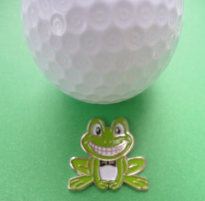 Frog Ball Marker golf ball pic 1