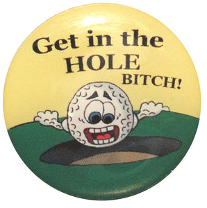 Get in the Hole Ball Marker