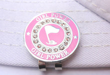 Girl Power w/ Crystals Ball Marker hat brim pic 1